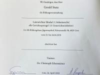 2018 04 23_24 AK Laienrichterausbildung Modul 2 Arbeitsrecht Teilnahmebestätigung