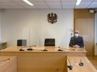 2021 01 20 Landesgericht Linz Arbeitsrechtsverhandlung als Laienrichter in Coronazeit