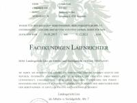 Ernennungs Urkunde zum Laienrichter 2017_2021