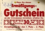 1990 12 02 Circus Adriano Gutschein