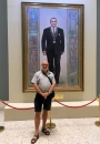 2017 08 26 Astana Kasachstan Nationalmuseum mit Präsidenten