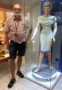 2018 08 04 Szentendre Ungarn Marzipan Museum Szamos Herzogin Diana 55 kg Marzipan