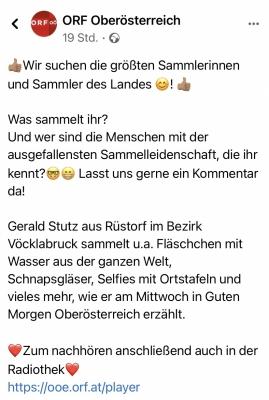 2021 03 17 ORF OÖ Facebook Eintrag Seite 1