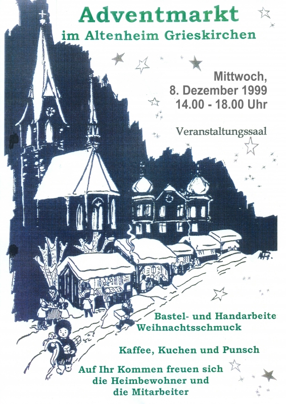 1999 12 08 Adventmarkt Altenheim Grieskirchen