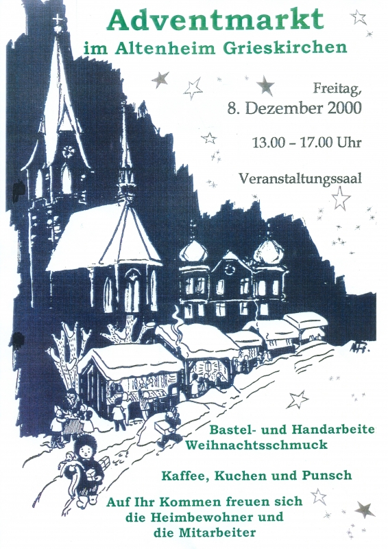 2000 12 08 Adventmarkt Altenheim Grieskirchen