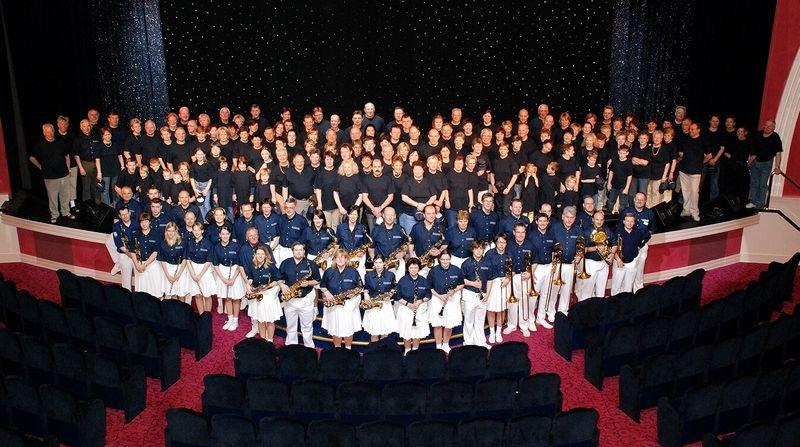 2008 Gruppenfoto im Theater