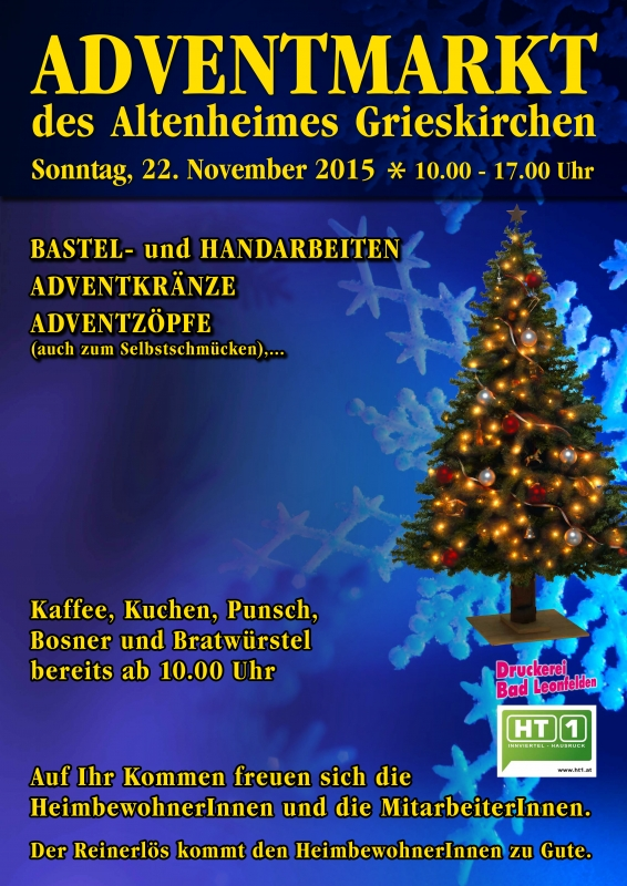 2015 11 22 Adventmarkt Altenheim Grieskirchen