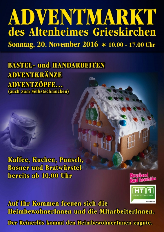 2016 11 20 Adventmarkt Altenheim Grieskirchen
