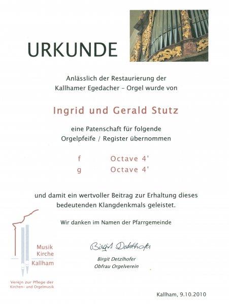2010 10 09 Kallhamer Egedacher Orgel