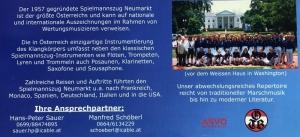 2008 SZ Gruppenfoto für Kreuzfahrt Rückseite
