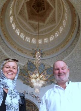 2016 10 26 Größte Moscheekuppel der Welt