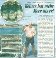 2018 10 12 Tageszeitung HEUTE Gewässerprobensammlung