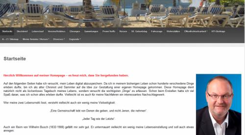 Homepage Gerald Stutz
