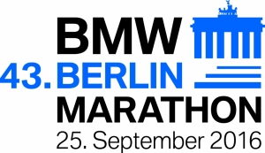 Logo Berlin Marathon 2016