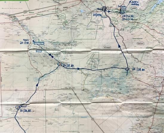 Route Teil 2