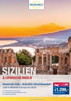 Sizilien - Liparische Inseln 2019