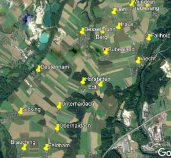 Desselbrunn 17 Ortschaften