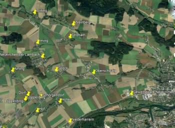 Neukirchen b Lambach 15 Ortschaften