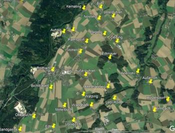 Roitham 27 Ortschaften