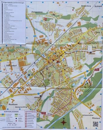 Stadtplan Schwanenstadt