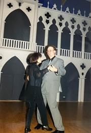 2000 01 29 Eröffnungswalzer Obmann Gerald Stutz mit Gattin Ingrid