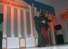 2004 01 24 Eröffnungswalzer Obmann Gerald Stutz mit Gattin Ingrid