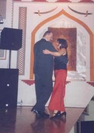 2005 01 29 Eröffnungswalzer Obmann Gerald Stutz mit Gattin Ingrid