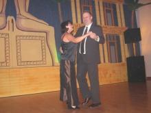 2008 01 26 Eröffnungswalzer Obmann Gerald Stutz mit Gattin Ingrid