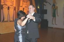 2009 01 31 Eröffnungswalzer Obmann Gerald Stutz mit Gattin Ingrid