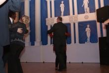 2010 01 30 Eröffnungswalzer Obmann Gerald Stutz mit Gattin Ingrid