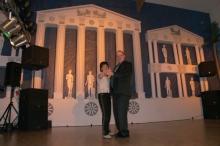 2011 01 29 Eröffnungswalzer Obmann Gerald Stutz mit Gattin Ingrid