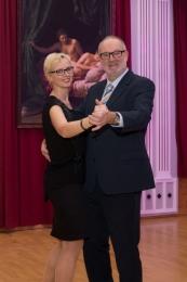 2019 01 26 Eröffnungswalzer Obmann Gerald Stutz mit Partnerin Jutta