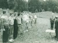 1979 08 13 Jahnwanderung Laudachsee Meldung