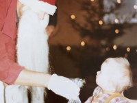 1984 12 08 Kinderjulfeier Papa als Nikolaus