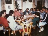 1988 05 09 Dienstagriege Einladung beim Klaffl