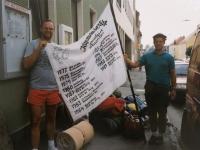 1990 08 15 Sieg Nr 14 der Jahnwanderung nach Weitersfelden