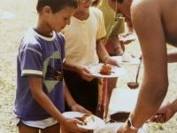 1990 08 30 Jugendlager St Pankraz Essensausgabe