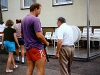 1991 07 14 Graz 8 ÖTB Bundesturnfest Ankunft Turnerheim