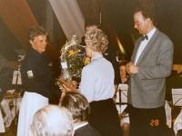 1992 02 28 SZ Einsatz 195 Jahre Lehnerei Blumen für Imhilde Lehner