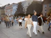 1992 06 20 Sonnwendfeier Neumarkt Marsch vom Marktplatz