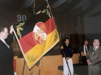 1994 04 08 NTV Jahreshauptversammlung neue Vereinsfahne