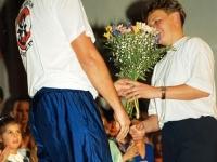 1994 12 10 Julschauturnen Dank an Turnwartin Anneliese Reizl