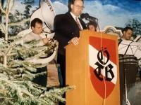 1994 12 17 Turnerheim Gemeinsame Weihnachtsfeier Begrüßung