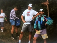 1995 08 13 Jahnwanderung Ulrichsberg Pause
