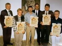1996 04 12 Jahreshauptversammlung NTV Neue Ehrenurkundenträger