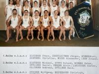 1996 07 14 Krems BTF ÖTB Vereinswettturnen Gruppenfoto mit Namen