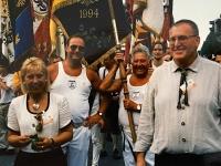 1998 05 31 München DTF Festzug mit Bundesobmann Atzmanninger