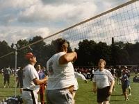 1998 06 01 München DTF Volleyballturnier am Netz