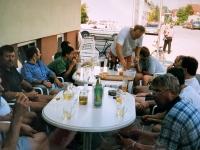 1999 06 13 Firmenjubiläum 10 Jahre IPZ nach Zusammenräumen nächster Tag