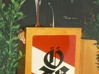 1999 07 10 Bezirksturnfest Neumarkt Festabend Begrüßung durch Obmann
